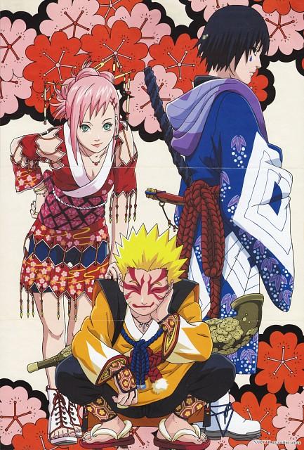 Studio Pierrot, Naruto, Sasuke Uchiha, Naruto Uzumaki, Sakura Haruno
