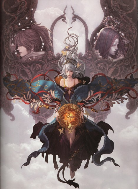 LANGE, Tencent Games, Yuan Art Collection, QQ Fantasy World