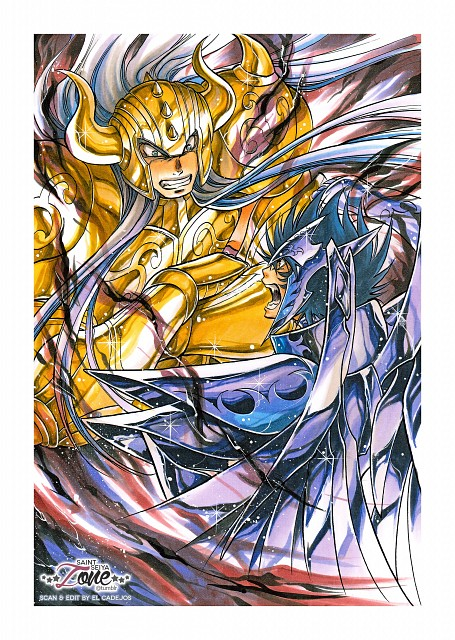 Shiori Teshirogi, TMS Entertainment, Saint Seiya: The Lost Canvas, Taurus Rasgado, Bennu Kagaho