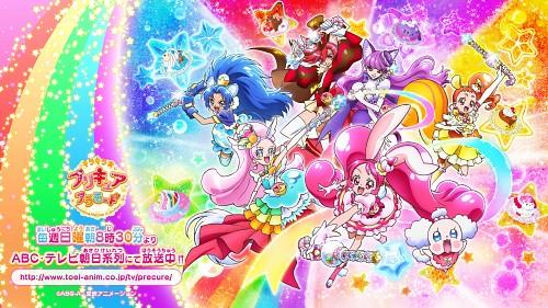 Toei Animation, Kirakira Precure A La Mode, Cure Custard, Cure Parfait, Cure Whip