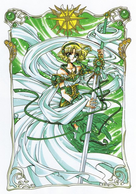 CLAMP, Magic Knight Rayearth, Magic Knight Rayearth Illustrations Collection, Fuu Hououji