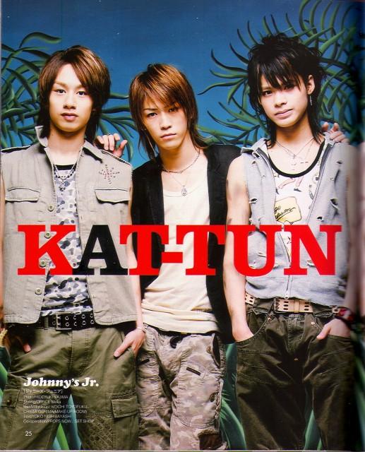 KAT-TUN, Kazuya Kamenashi, Yuichi Nakamaru, Tatsuya Ueda