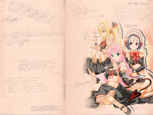 Xebec, To-LOVE-Ru, Yami, Haruna Sairenji, Lala Satalin Deviluke Wallpaper