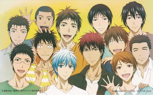 Tadatoshi Fujimaki, Production I.G, Kuroko no Basket, Shun Izuki, Riko Aida