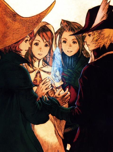 Square Enix, Final Fantasy III, Ingus, Refia