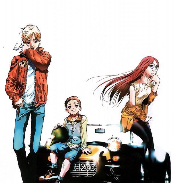 Haruhiko Mikimoto, Sunrise (Studio), Mobile Suit Gundam 0080, Alfred Izuruha, Christina Mackenzie