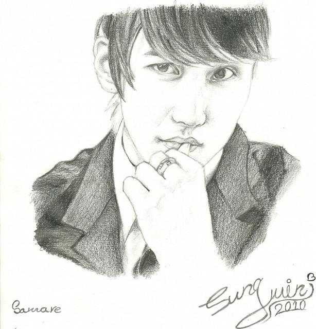 Sungmin, Super Junior, Member Art