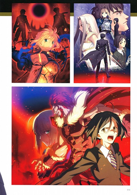 Takashi Takeuchi, TYPE-MOON, Ufotable, Fate/Zero, Fate/Zero Tribute Arts