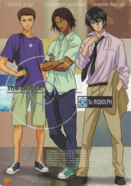 Takeshi Konomi, J.C. Staff, Prince of Tennis, Hajime Mizuki, Yuuta Fuji
