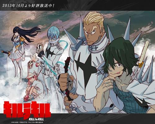Sushio, Kill la Kill, Hoka Inumuta, Satsuki Kiryuin, Uzu Sanageyama