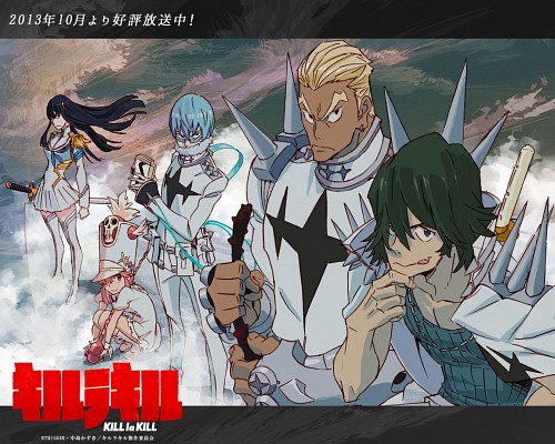 Sushio, Kill la Kill, Satsuki Kiryuin, Uzu Sanageyama, Nonon Jakuzure