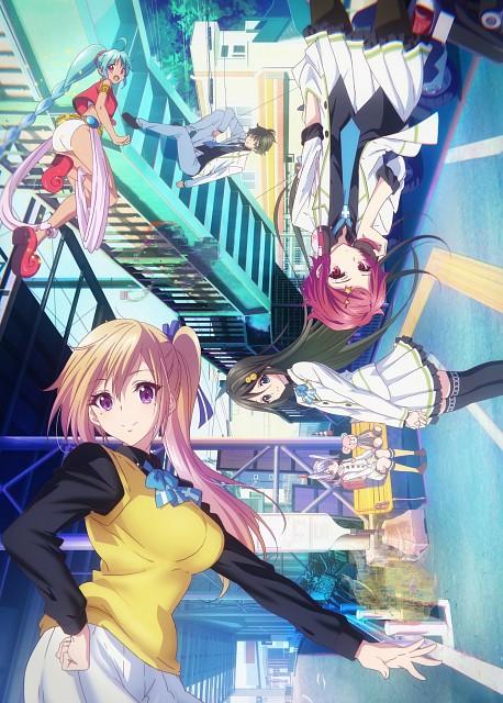 Kyoto Animation, Musaigen no Phantom World, Haruhiko Ichijou, Koito Minase, Ruru (Phantom World)