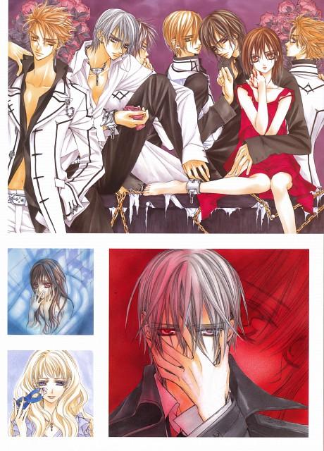Matsuri Hino, Vampire Knight, Hino Matsuri Illustrations: Vampire Knight, Hanabusa Aidou, Sara Shirabuki