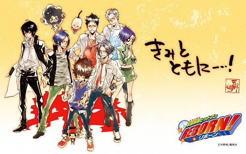 Akira Amano, Katekyo Hitman Reborn!, Tsunayoshi Sawada, Chrome Dokuro, Yi Pin
