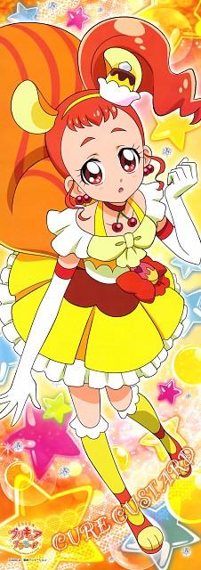 Toei Animation, Kirakira Precure A La Mode, Cure Custard, Stick Poster