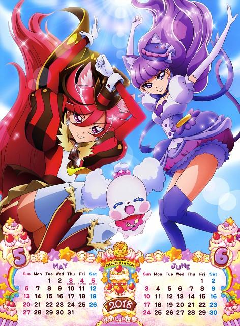 Toei Animation, Kirakira Precure A La Mode, Cure Chocolat, Cure Macaron, Pekorin