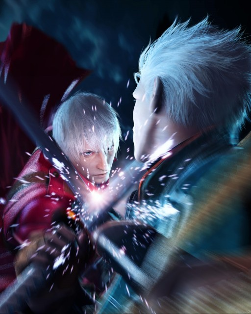 Capcom, Devil May Cry, Vergil, Dante
