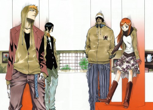 Kubo Tite, Bleach, All Colour But The Black, Yasutora Sado, Orihime Inoue