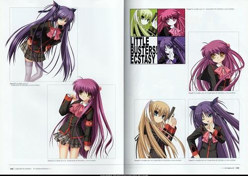 Hinoue Itaru, Na-Ga, Key (Studio), Little Busters! Ecstasy -Perfect Visual Book-, Little Busters