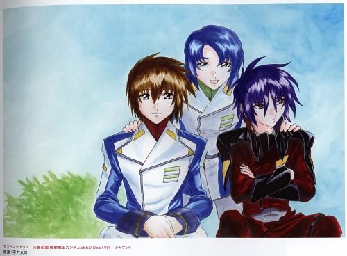 Hisashi Hirai, Sunrise (Studio), Mobile Suit Gundam SEED Destiny, Athrun Zala, Shinn Asuka