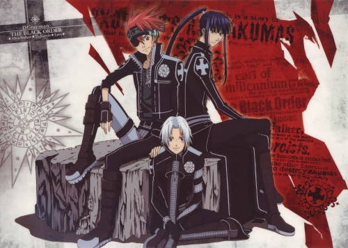 TMS Entertainment, D Gray-Man, Yu Kanda, Lavi, Allen Walker