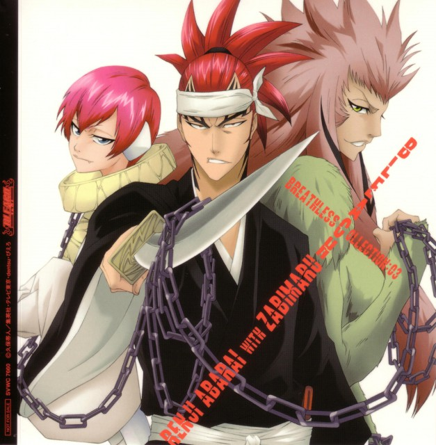 Studio Pierrot, Bleach, Renji Abarai, Album Cover