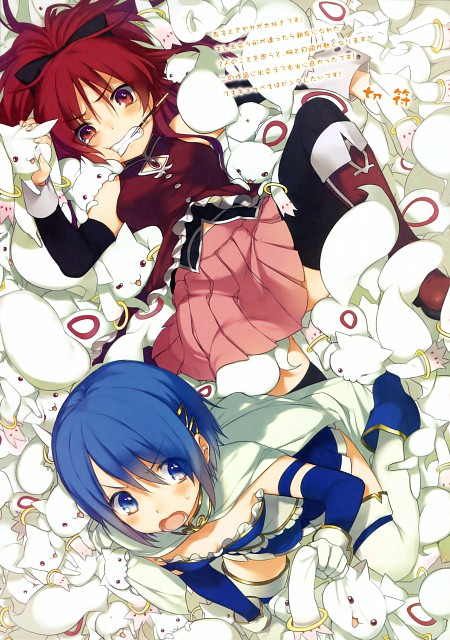 Kippu, Puella Magi Madoka Magica, Mahou Shoujo Madoka Magica Special Fan Book, Sayaka Miki, Kyubey