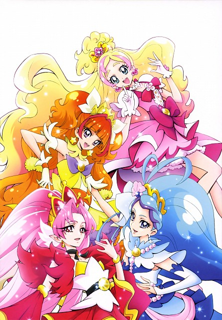 Futago Kamikita, Go! Princess Precure, Futago Kamikita All Precure Illustration Collection, Cure Scarlet, Cure Twinkle