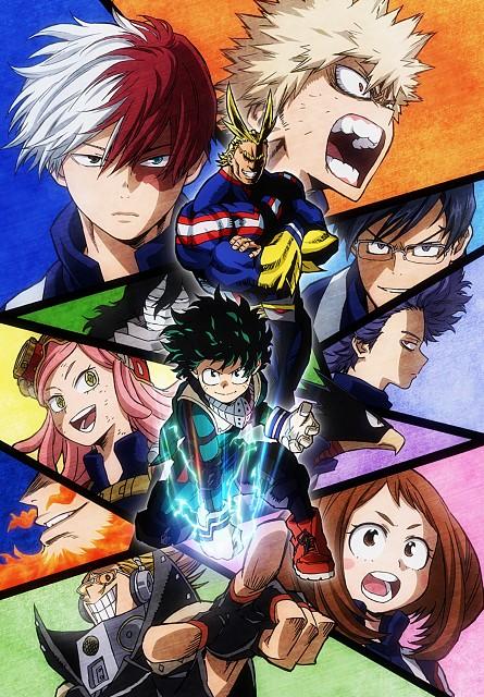 Kouhei Horikoshi, BONES, Boku no Hero Academia, Toshinori Yagi, Enji Todoroki