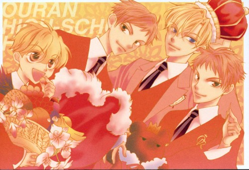 Hatori Bisco, BONES, Ouran High School Host Club, Kaoru Hitachiin, Tamaki Suoh