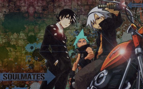 Soul Eater, Death The Kid, Soul Evans, Black Star Wallpaper