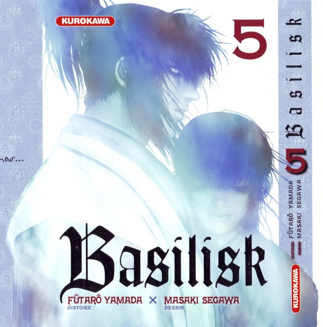 Masaki Segawa, Basilisk, Gennosuke Kouga, Oboro Iga, Manga Cover