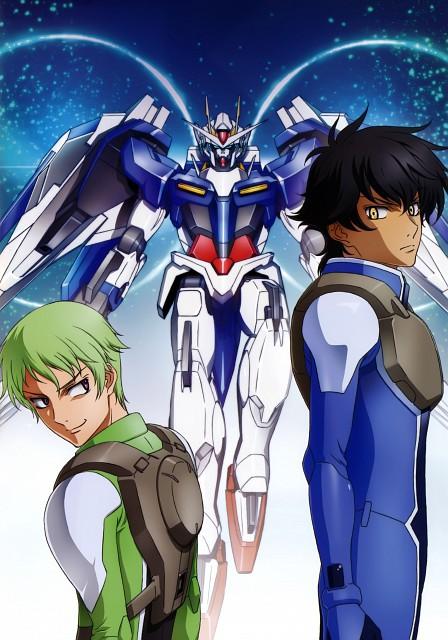 Sunrise (Studio), Mobile Suit Gundam 00, Mobile Suit Gundam 00 Illustrations Innovation, Setsuna F. Seiei, Ribbons Almark