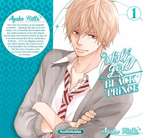 Ayuko Hatta, Ookami Shoujo to Kuro Ouji, Kyouya Sata, Manga Cover