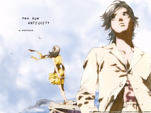 BONES, RahXephon, Ayato Kamina, Reika Mishima Wallpaper