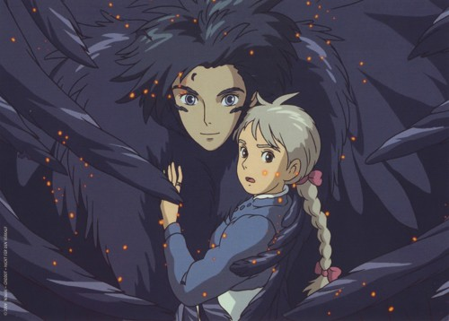 Hayao Miyazaki, Studio Ghibli, Howl's Moving Castle, Howl Jenkins, Sophie Hatter