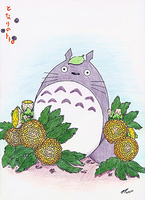 Studio Ghibli, My Neighbor Totoro, Totoro, Colorizations