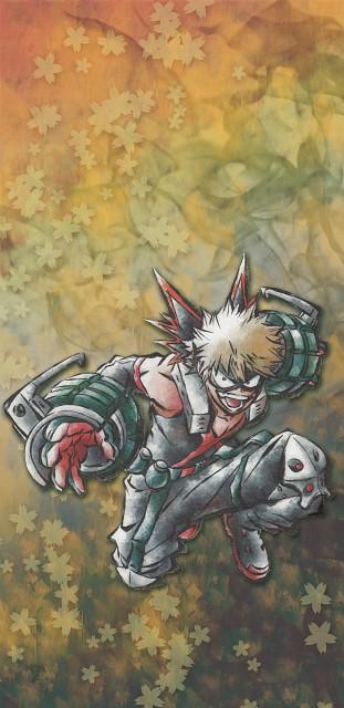 Kouhei Horikoshi, BONES, Boku no Hero Academia, Katsuki Bakugou