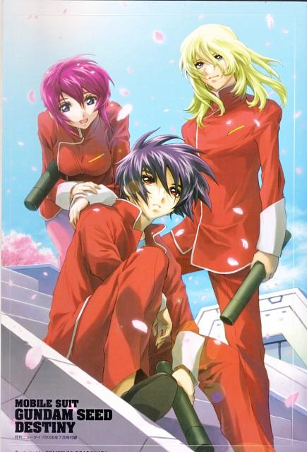 Hisashi Hirai, RGB, Sunrise (Studio), Mobile Suit Gundam SEED Destiny, Shinn Asuka