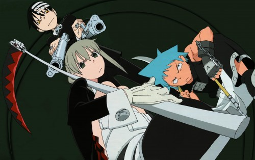 Soul Eater, Patty Thompson, Liz Thompson, Soul Evans, Tsubaki Nakatsukasa