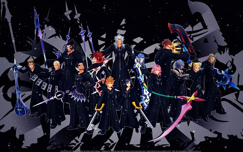 Square Enix, Kingdom Hearts, Saïx, Xigbar, Marluxia Wallpaper
