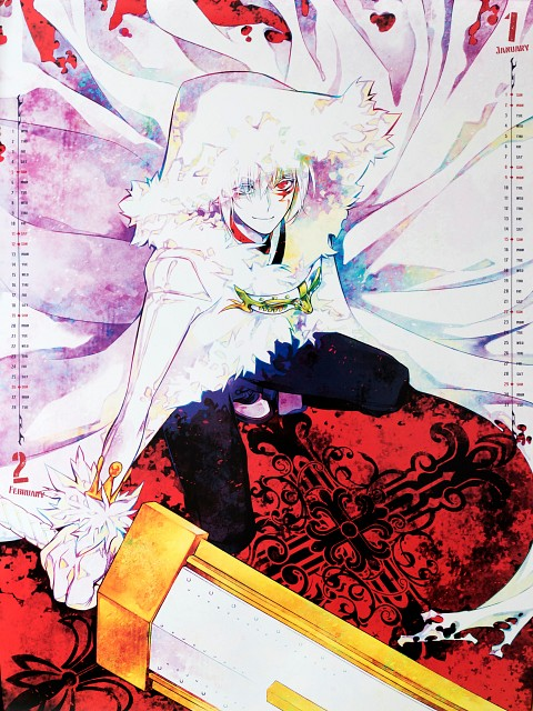 Katsura Hoshino, D Gray-Man, D Gray-Man 2017 Calendar, Allen Walker, Crown Clown