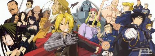 Hiromu Arakawa, BONES, Fullmetal Alchemist, Roy Mustang, Black Hayate