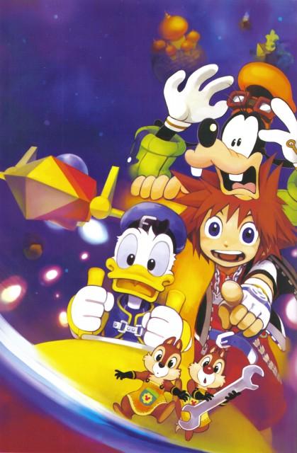 Shiro Amano, Art Works Kingdom Hearts, Kingdom Hearts, Donald Duck, Goofy