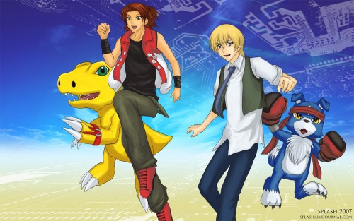 Toei Animation, Digimon Savers, Tohma H. Norstein, Masaru Daimon, Member Art