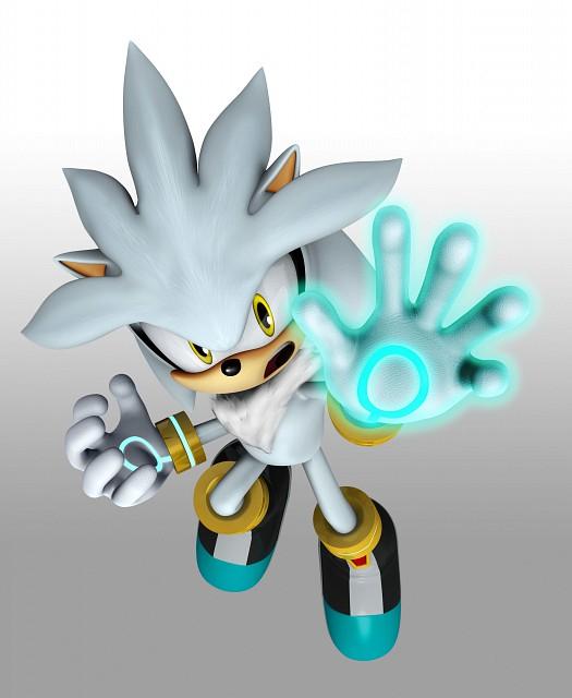 Sega, Sonic the Hedgehog, Silver The Hedgehog, Official Digital Art