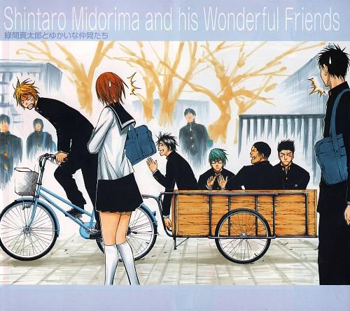 Tadatoshi Fujimaki, Kuroko no Basket, Shinsuke Kimura, Shintarou Midorima, Taisuke Outsubo