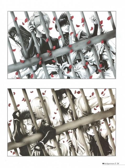 Kazuya Minekura, Saiyuki Gaiden, Saiyuki, Backgammon 3, Tenpou Gensui