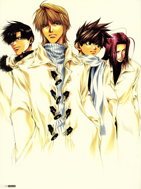 Kazuya Minekura, Studio Pierrot, Saiyuki, Salty Dog I, Genjyo Sanzo