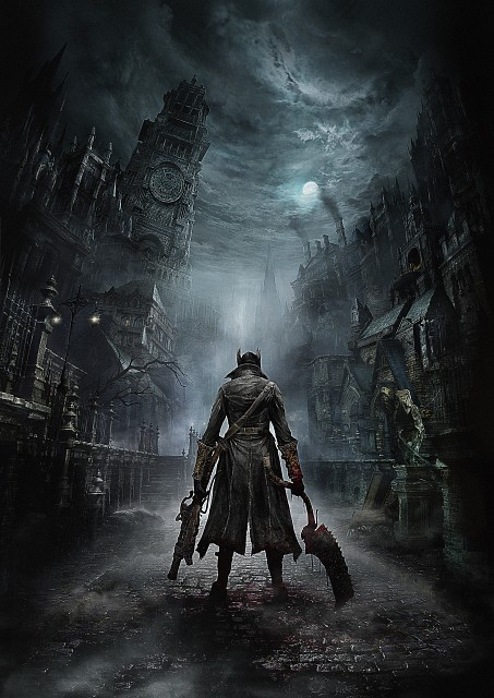 Sony Computer Entertainment Inc, FromSoftware, Bloodborne, The Hunter, Official Digital Art